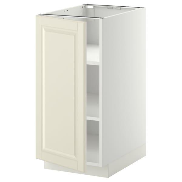 METOD МЕТОД Підлогова шафа з полицями - білий/БУДБІН кремово-білий - IKEA