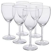 IKEA SVALKA (000.151.34) Бокал для белого вина, бесцветное стекло