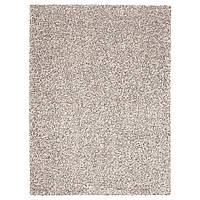 IKEA VINDUM (503.449.86) Ковер, длинный ворс, белый