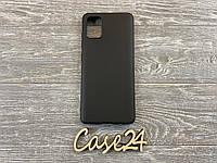 TPU матовый чехол для  Samsung Galaxy A51 черный, фото 1