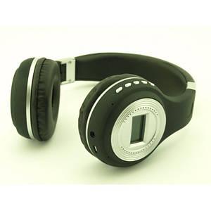 Бездротові Навушники з MP3 плеєром 471 BT Радіо з LED Дисплеєм чорні