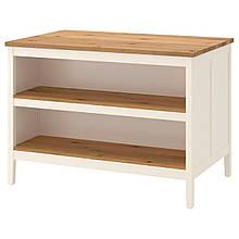 IKEA TORNVIKEN Кухонний острівець, вершковий, дуб (403.916.57)