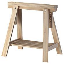 IKEA Опора для стола с полкой FINNVARD (303.457.17)