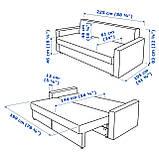 IKEA Диван раскладной FRIHETEN ( 503.411.48), фото 4