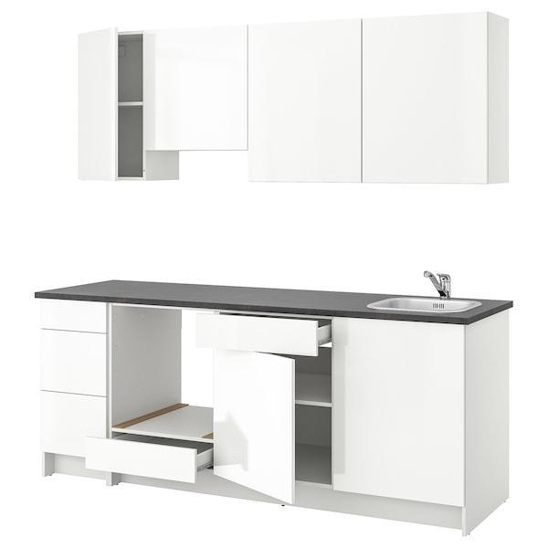 KNOXHULT КНОКСХУЛЬТ Кухня - глянцевий білий - IKEA
