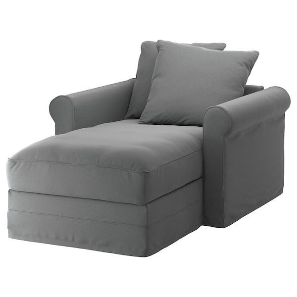 GRÖNLID ГРЕНЛІД Чохол для кушетки - ЛЬЙУНГЕН класичний сірий - IKEA