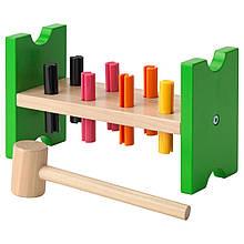 IKEA MULA (702.948.91) Блок игровой с колышками и молотком