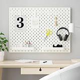 SKÅDIS СКОДІС Комбінація перфорованої дошки - IKEA, фото 2