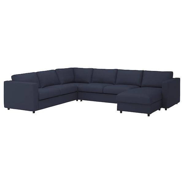 VIMLE ВІМЛЕ Кутовий диван-ліжко, 5-місний - IKEA