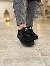 Кроссовки зимние женские New Balance 574, черные, фото 2