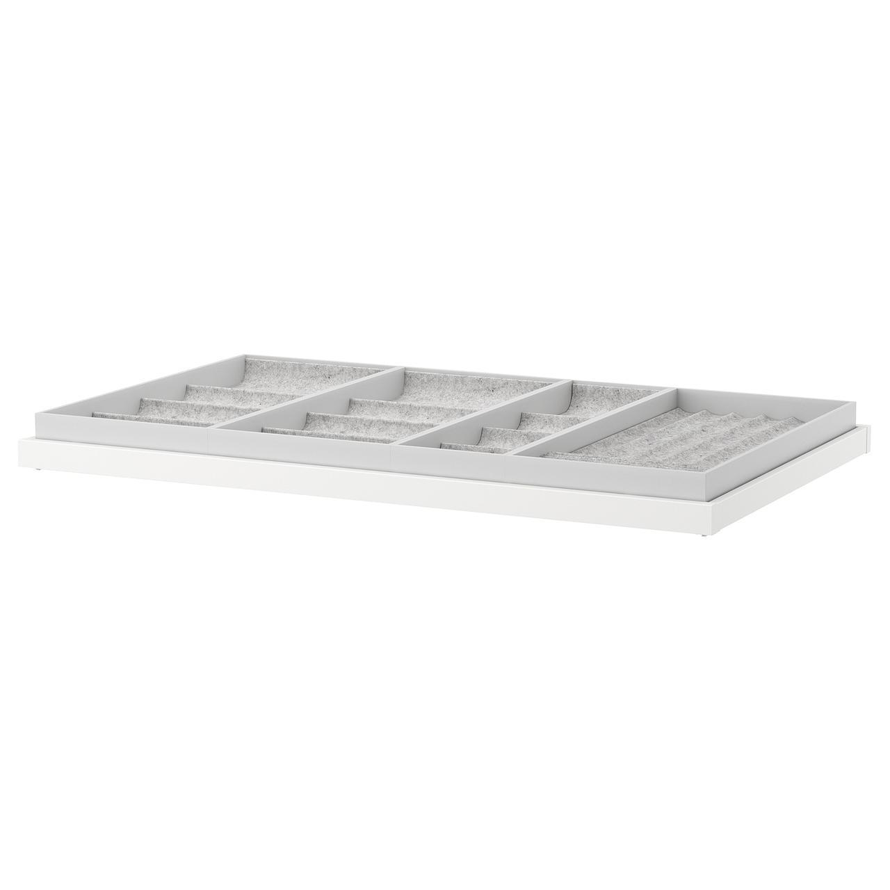 IKEA Выдвижная полка с вставкой KOMPLEMENT (492.493.63)