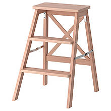 IKEA BEKVAM (901.904.11) Лестница, 3 ступени, бук