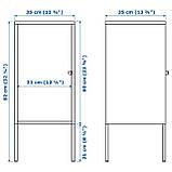 IKEA LIXHULT (503.286.70) Шкаф, металл, темно-синий, фото 7