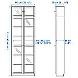 IKEA BILLY / OXBERG (692.177.14) Книжный шкаф, фото 3