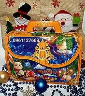 НОВИНКА 2021 ГОДА! Новогодняя коробка для конфет 1000г