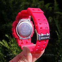 Годинники наручні жіночі червоні Casio G-Shock AAA GA-110 Red / касіо джишок червоні, фото 3