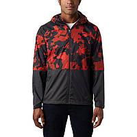 Куртка ветровка Columbia Roan Carnelian Red Cloudy CLOUDS/SHARK RM3081 835