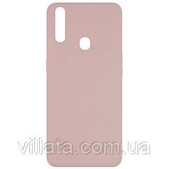 Чехол Silicone Cover Full without Logo (A) для Oppo A31 Розовый / Pink Sand