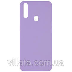 Чехол Silicone Cover Full without Logo (A) для Oppo A31 Сиреневый / Dasheen