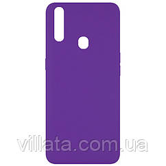Чехол Silicone Cover Full without Logo (A) для Oppo A31 Фиолетовый / Purple