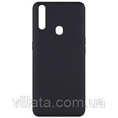 Чехол Silicone Cover Full without Logo (A) для Oppo A31 Черный / Black