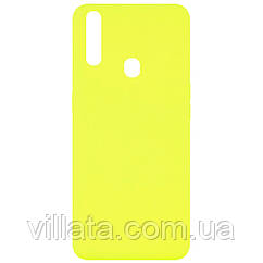 Чехол Silicone Cover Full without Logo (A) для Oppo A31 Желтый / Flash