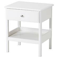 IKEA TYSSEDAL (702.999.59) тумбочка, білий