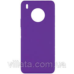 Чехол Silicone Cover Full without Logo (A) для Huawei Y9a