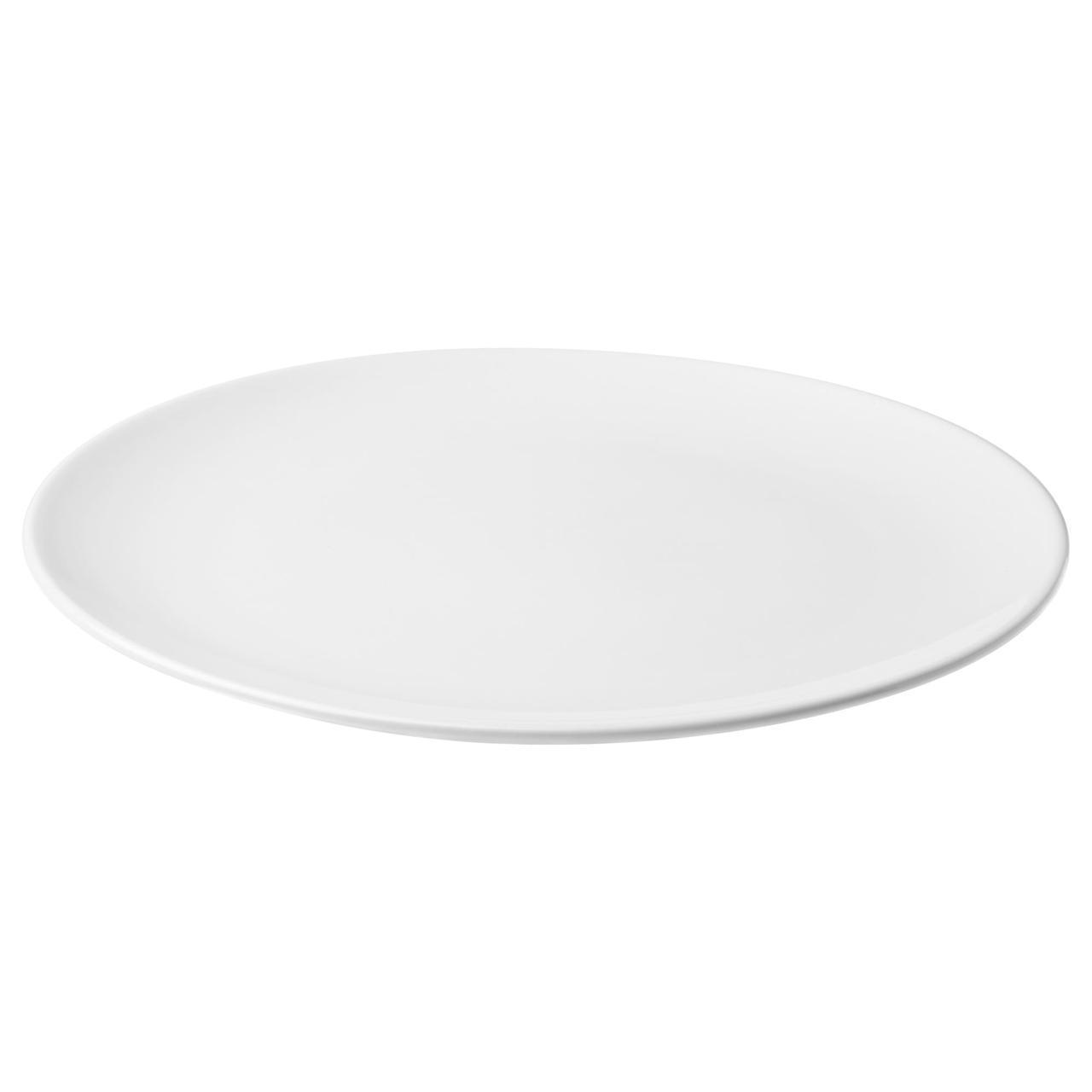 IKEA FLITIGHET (103.466.52) Тарелка, белый