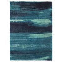 IKEA SONDEROD (003.458.46) Ковер, длинный ворс, синий