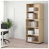 IKEA TJENA (103.954.16) Подставка для журналов, белое, фото 4