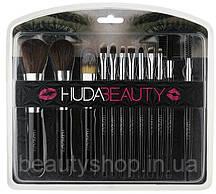 Набір кистей для макіяжу Huda Beauty - 12 штук