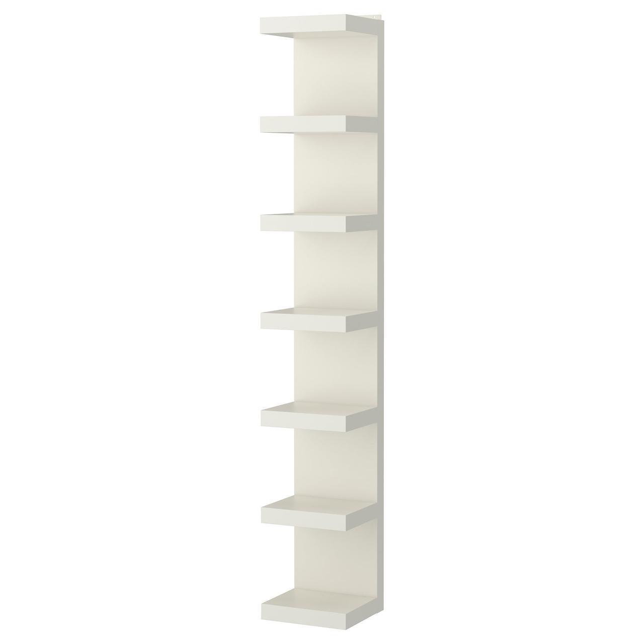 IKEA LACK (602.821.86) Настенная полка, белая