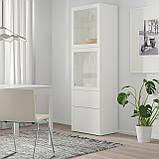 IKEA Витрина BESTÅ ( 393.008.56), фото 2