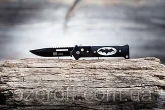 Карманный выкидной нож Бэтмен. Нож выкидной Columbia 20,5 см.
