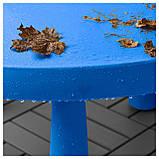 IKEA MAMMUT (903.651.80) Детский стол, синий, фото 3