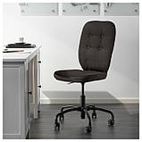 IKEA LILLHOJDEN (102.214.02) Рабочий стул, Blekinge white, фото 2