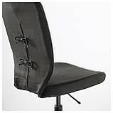 IKEA LILLHOJDEN (102.214.02) Рабочий стул, Blekinge white, фото 3