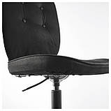 IKEA LILLHOJDEN (102.214.02) Рабочий стул, Blekinge white, фото 4