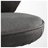 IKEA LILLHOJDEN (102.214.02) Рабочий стул, Blekinge white, фото 5
