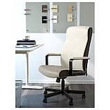 IKEA MILLBERGET (203.394.15) Рабочий стул,  белый, фото 2