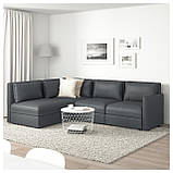 IKEA Модульная секция дивана VALLENTUNA (692.770.91), фото 4