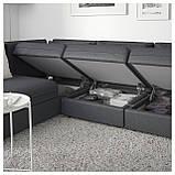 IKEA Модульная секция дивана VALLENTUNA (692.770.91), фото 5