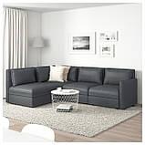 IKEA Модульная секция дивана VALLENTUNA (692.770.91), фото 10