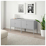 IKEA LIXHULT (192.791.77) Комбинация шкафов, серый, фото 3