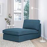 KIVIK КІВІК Кушетка - ХІЛЛАРЕД темно-синій - IKEA, фото 2