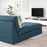 KIVIK КІВІК Кушетка - ХІЛЛАРЕД темно-синій - IKEA, фото 3