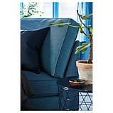 KIVIK КІВІК Кушетка - ХІЛЛАРЕД темно-синій - IKEA, фото 6