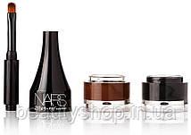 Гелевая ПОДВОДКА для бровей NARS 2 in 1 ( 2 оттенка - коричневая, черный )   989