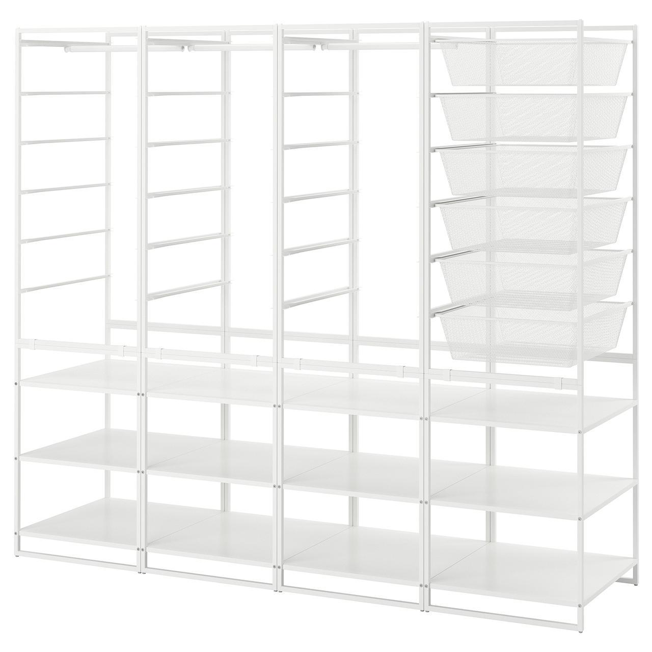 IKEA Стеллаж с корзинами JONAXEL (592.976.74)